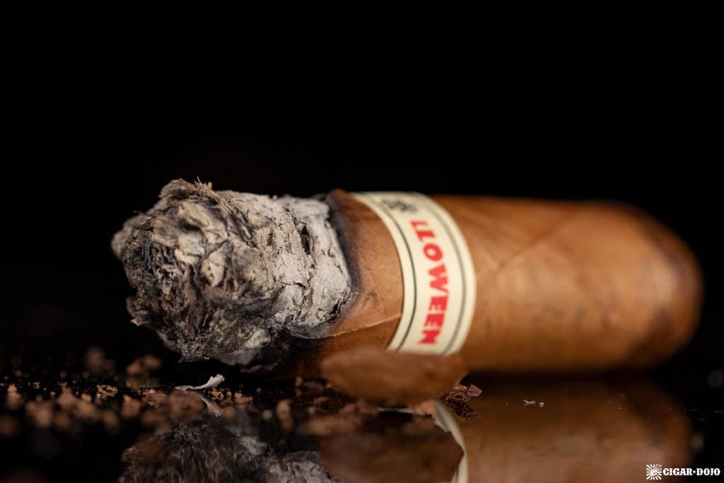 Tatuaje Tiff No. 12 cigar nub finished
