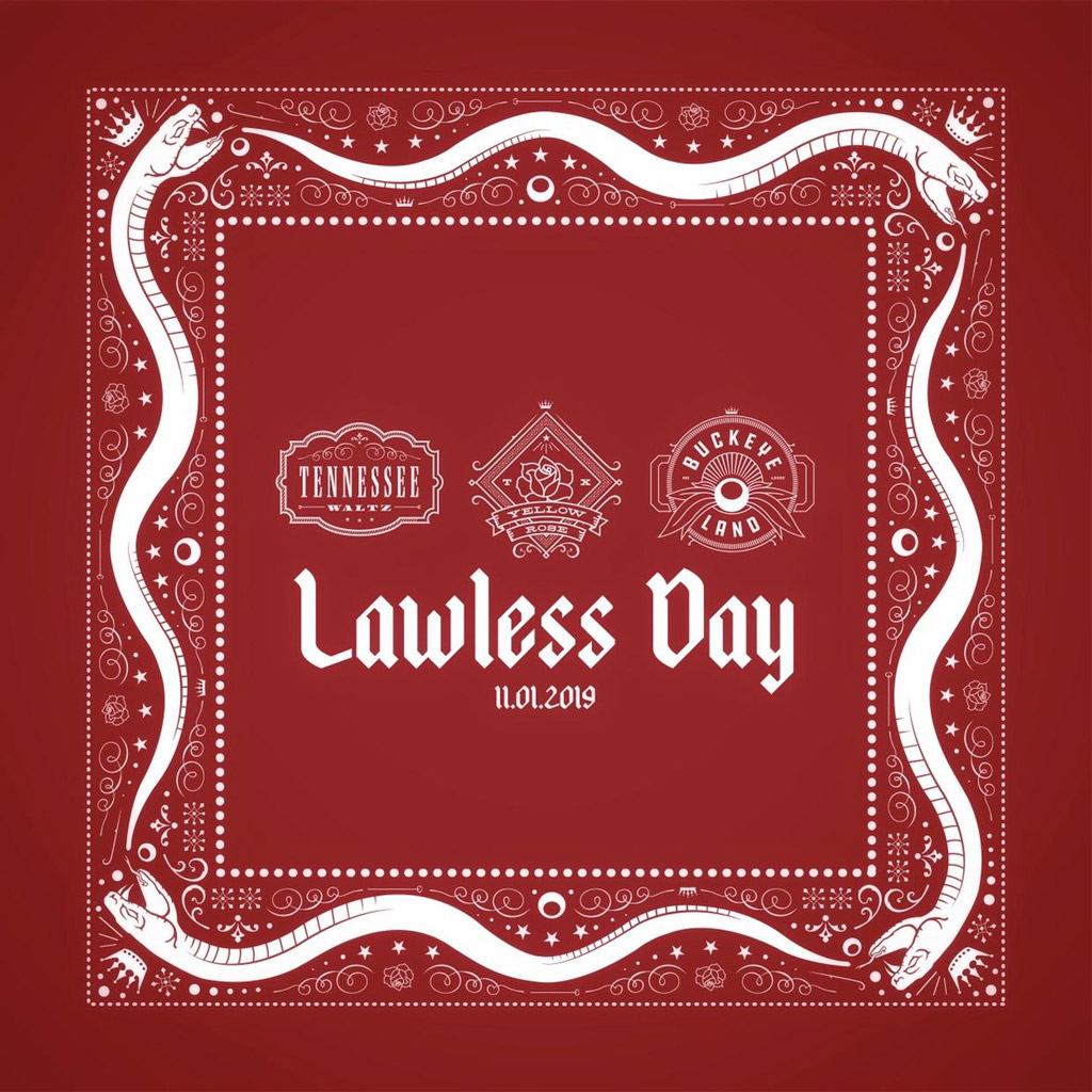 Crowned Heads Lawless Day 2019 graphic