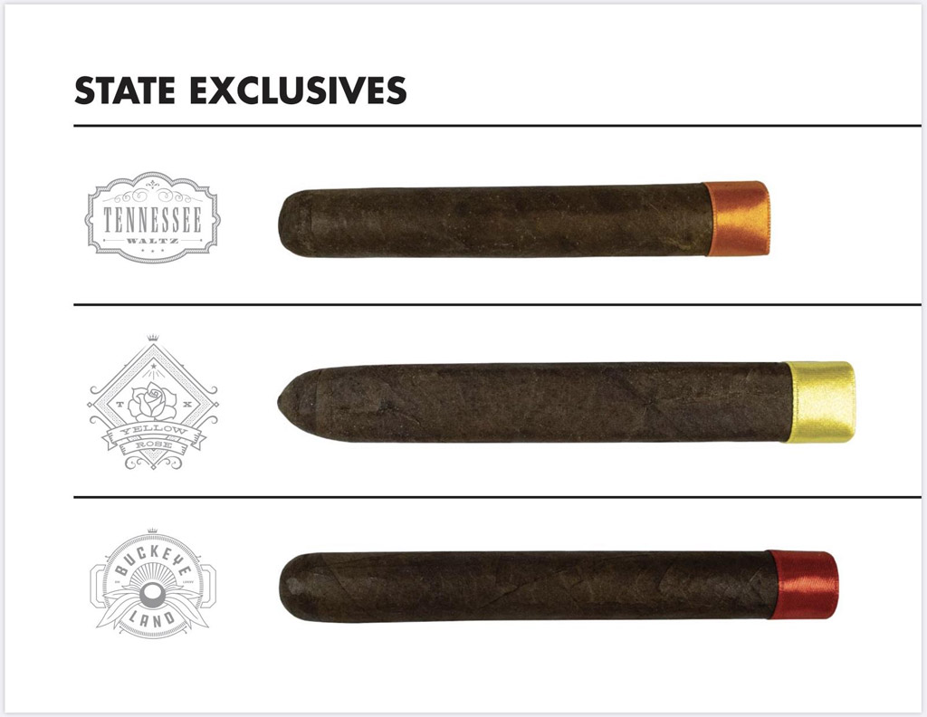 Crowned Heads state-exclusive cigar lines