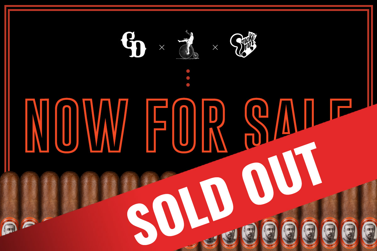 Caldwell Far Eastern Standard cigars sold out