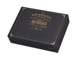 Gurkha Nicaragua Series cigar box closed