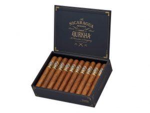 Gurkha Nicaragua Series cigar box open