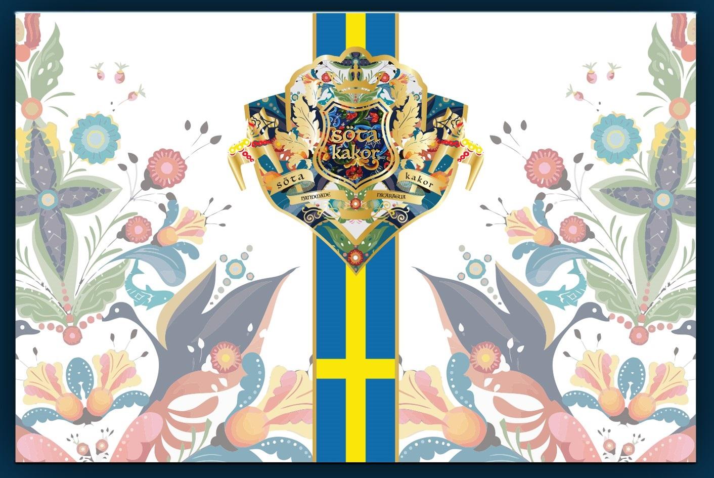 Jas Sum Kral Söta Kakor box artwork