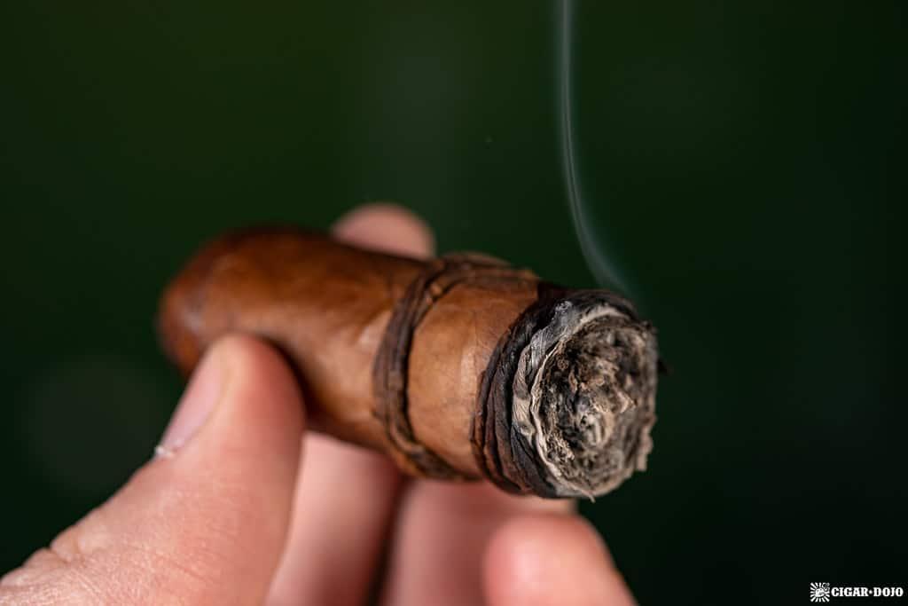 CAO Orellana cigar ash
