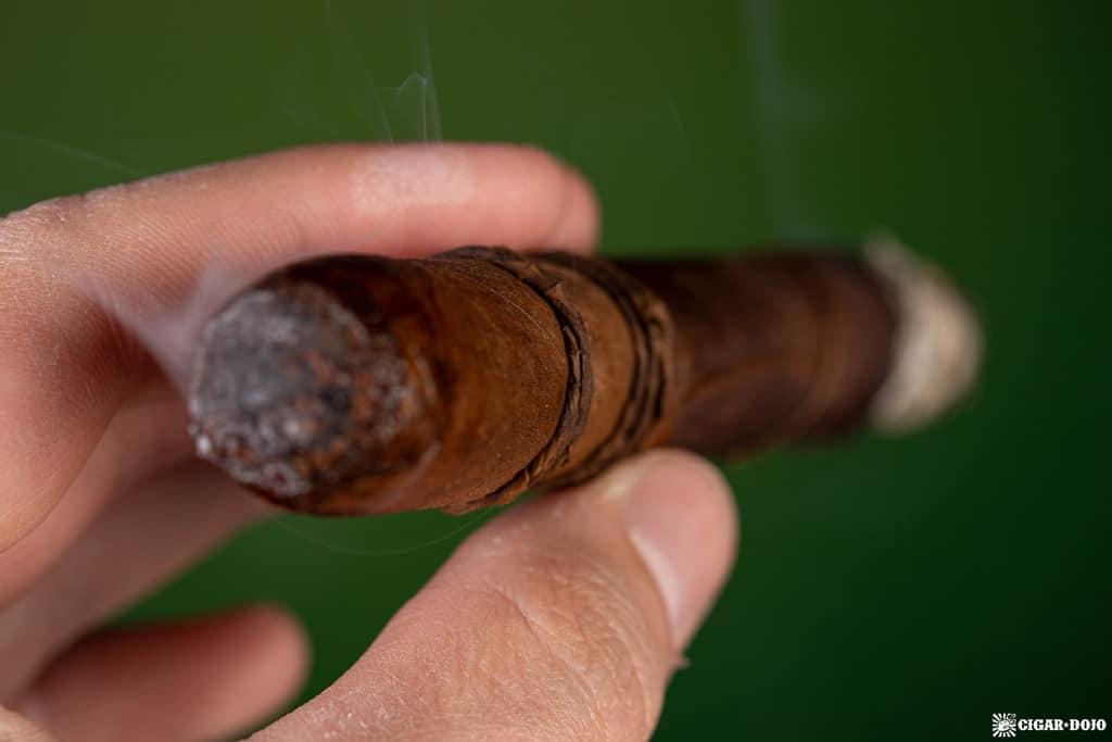 CAO Orellana cigar smoking