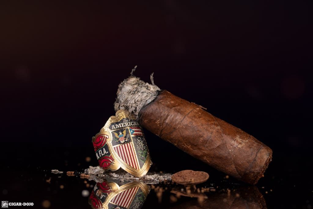 J.C. Newman The American Robusto cigar nub finished