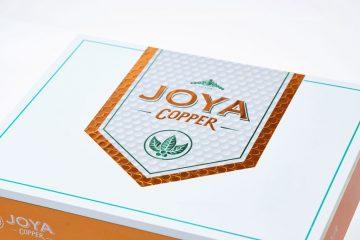 Joya de Nicaragua Joya Copper cigar box lid