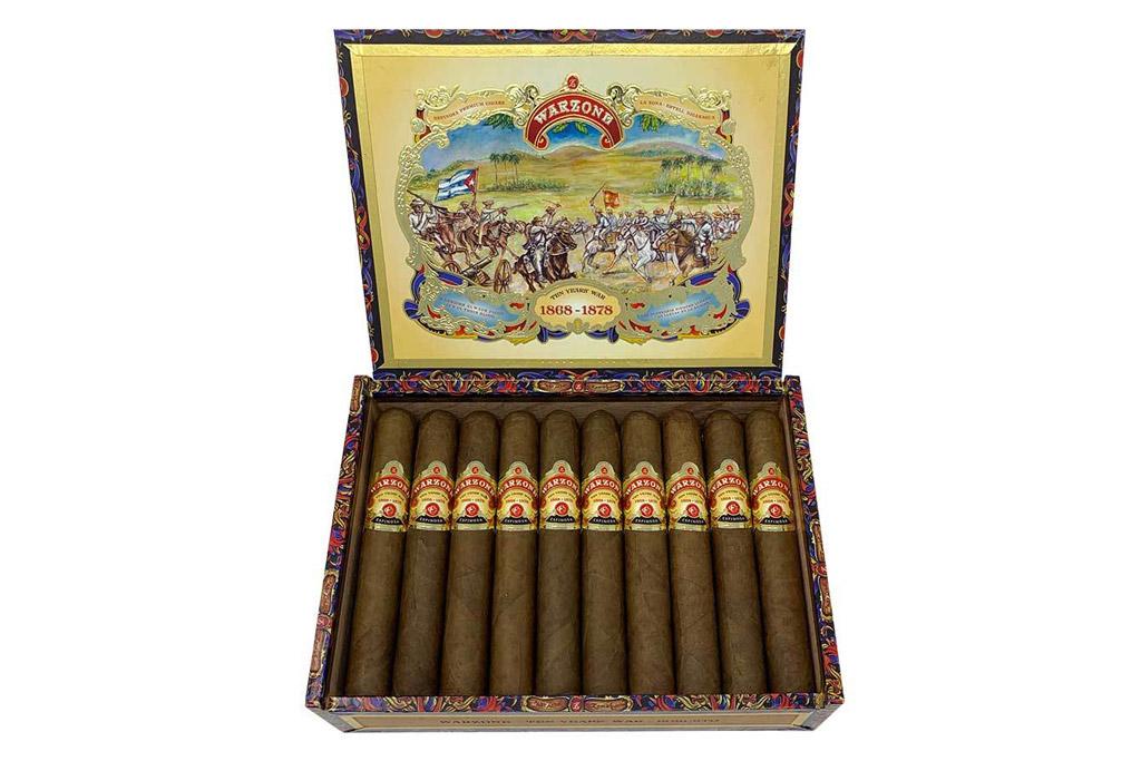 Espinosa General Cigar Co. Warzone packaging