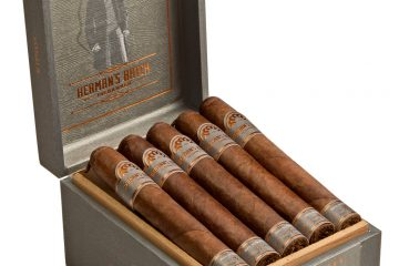 H. Upmann Herman's Batch cigar box open