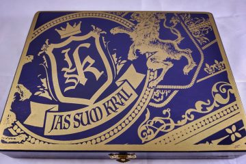 JSK Stateline Cigar Lounge Exclusive cigar box