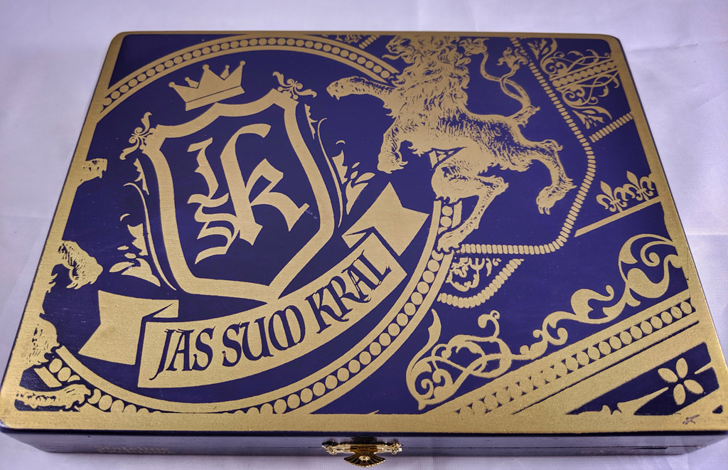 JSK Stateline Cigar Lounge Exclusive cigar box