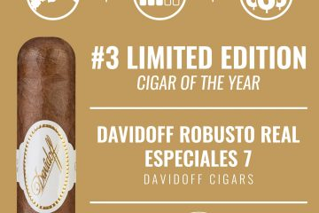 Davidoff Robusto Real Especiales 7 No. 3 Limited Edition Cigar of the Year 2019