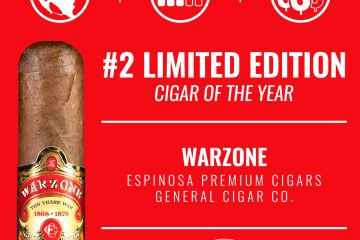 Espinosa Warzone No. 2 Limited Edition Cigar of the Year 2019