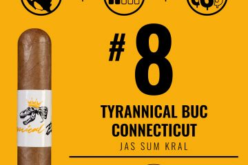 Jas Sum Kral Tyrannical Buc Connecticut No. 8 Cigar of the Year 2019