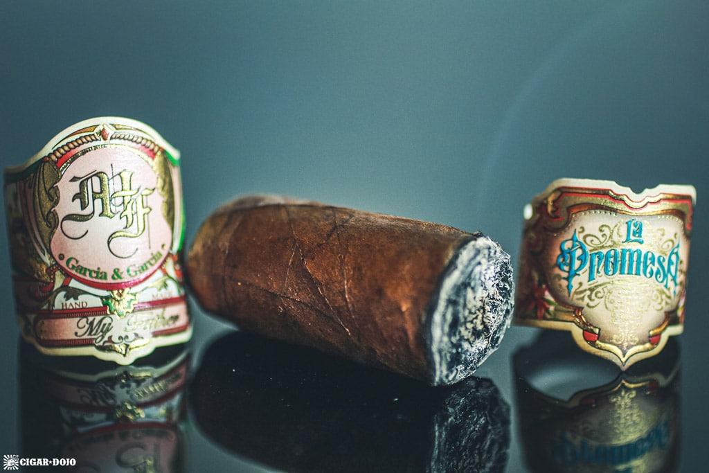 My Father La Promesa Toro cigar nub finished