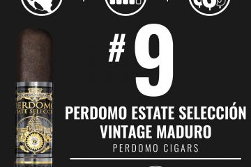 Perdomo Estate Selección Vintage Maduro No. 9 Cigar of the Year 2019