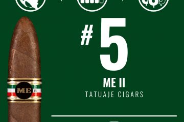 Tatuaje ME II No. 5 Cigar of the Year 2019