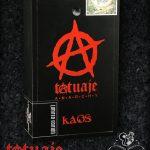 Tatuaje Anarchy Kaos box closed