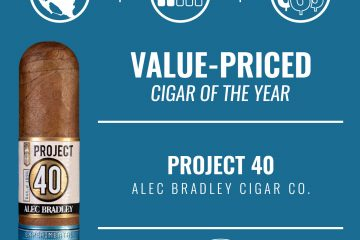 Alec Bradley Project 40 Value-Priced Cigar of the Year 2019