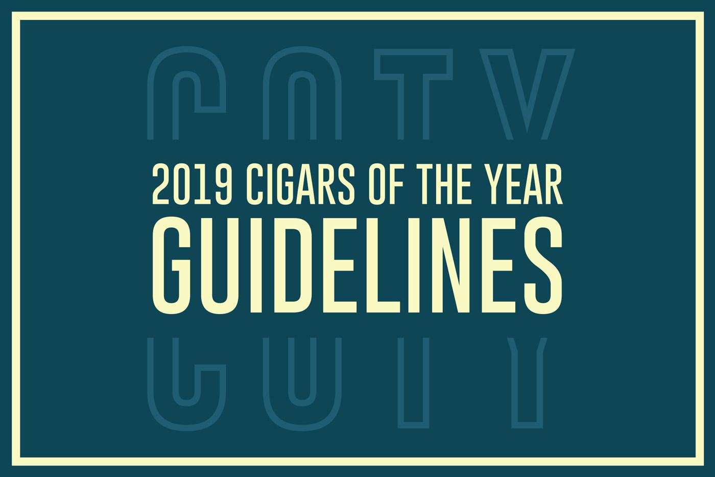 Cigar Dojo 2019 Cigar of the Year Guidelines