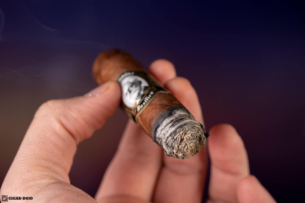 Casdagli Basilica A Toro cigar ash