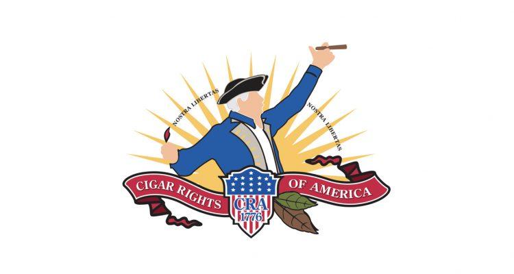Cigar Rights of America logo (CRA)