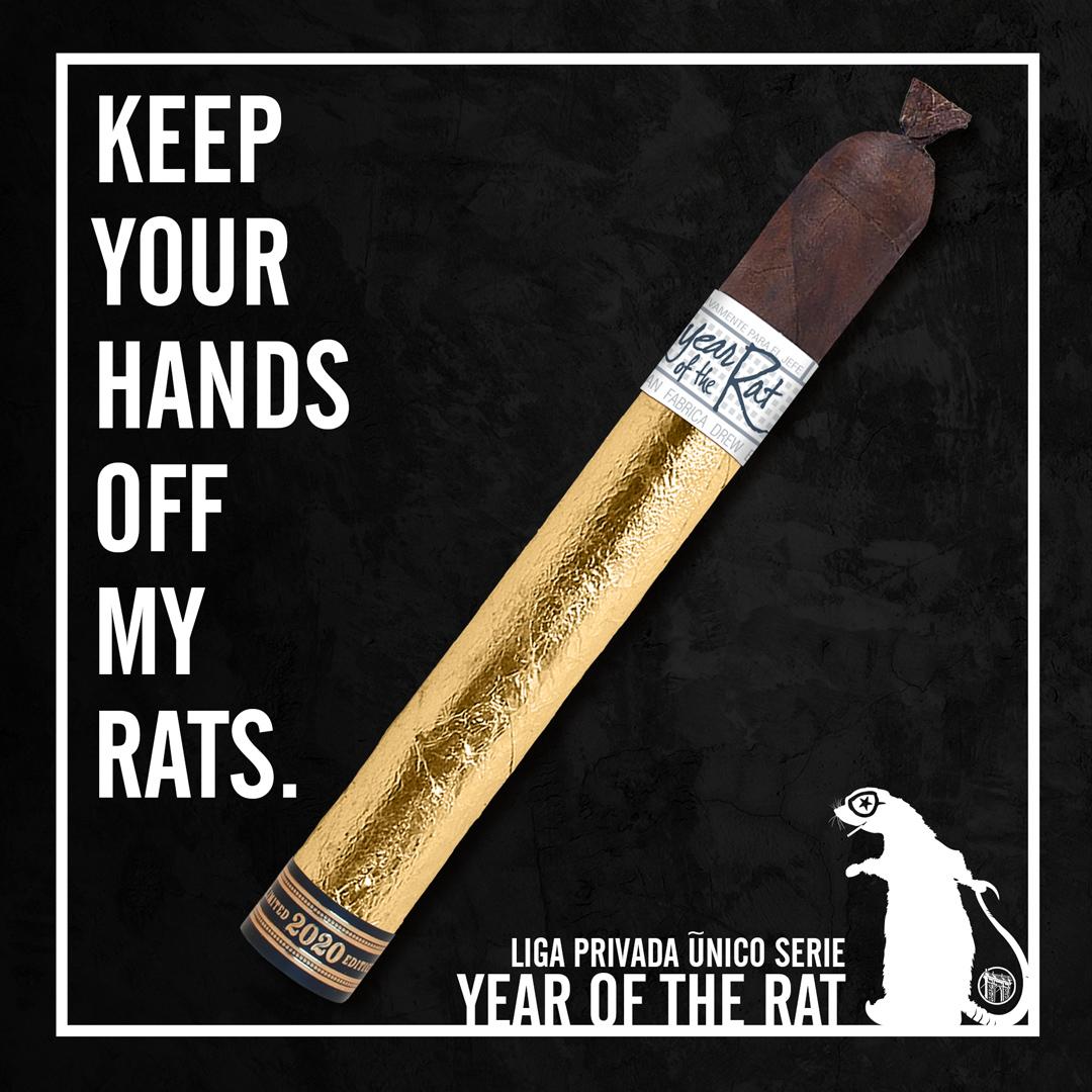 Drew Estate Liga Privada Único Serie Year of the Rat 2020 cigar