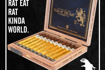 Drew Estate Liga Privada Único Serie Year of the Rat 2020 open cigar box