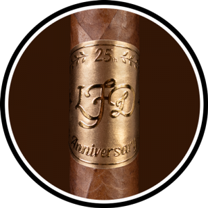 La Flor Dominicana 25th Anniversary Luxury COTY 2019 circle