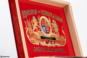 Lords of England Connecticut Robusto cigar box inside lid