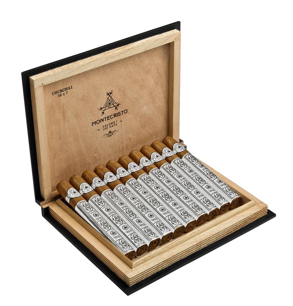 Montecristo Volume 1: 100 Days cigar box open