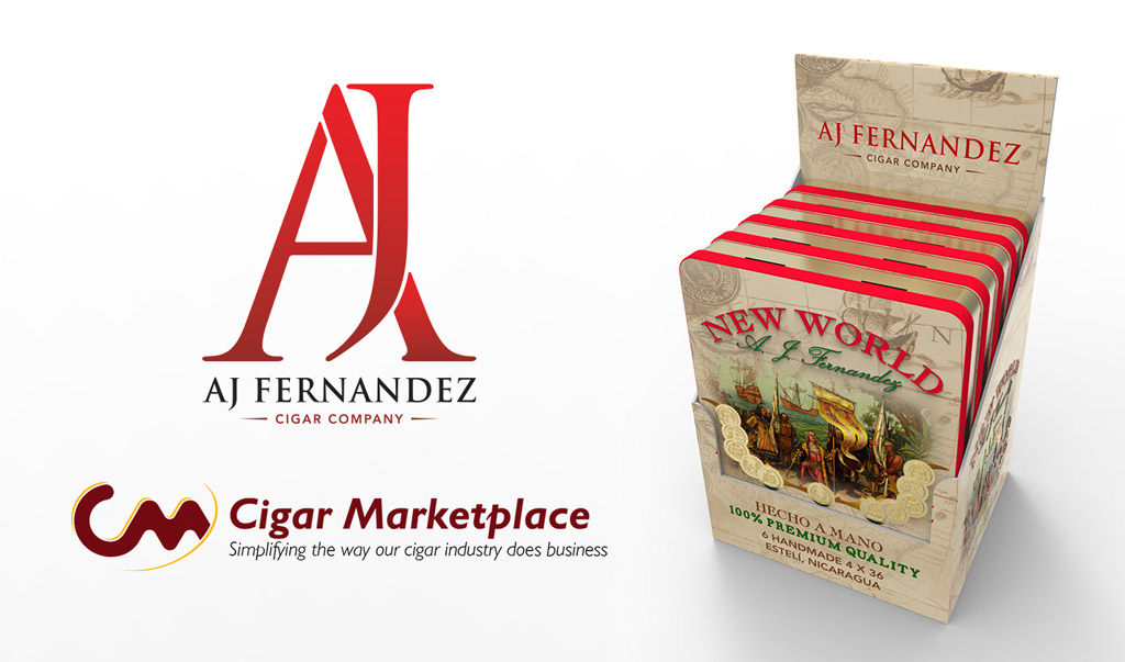 AJ Fernandez New World cigar tins