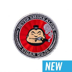 Cigar Dojo 2020 emblem patch NEW