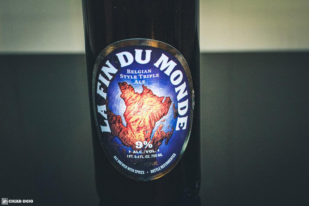 La Fin Du Monde Golden-style Triple beer
