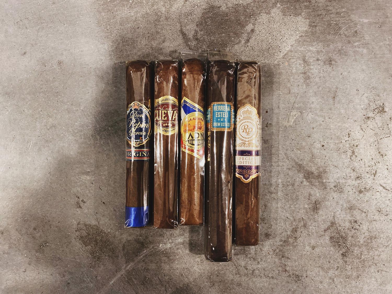 Cigar giveaway runner-up prize 5 cigars