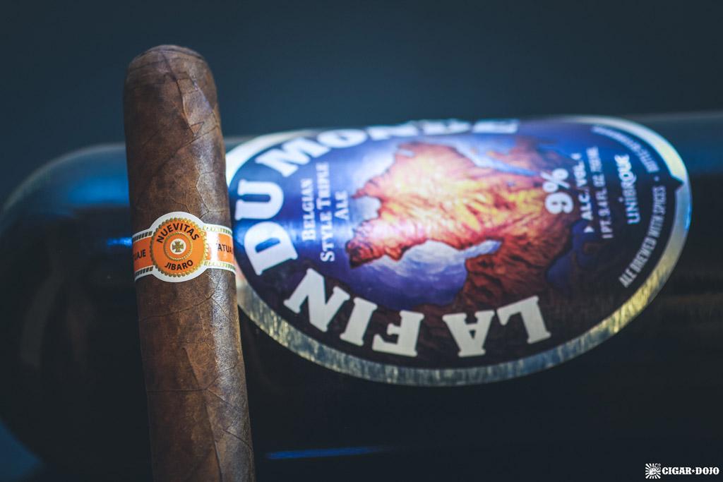 Tatuaje Nuevitas Jibaro La Fin Du Monde cigar and beer pairing