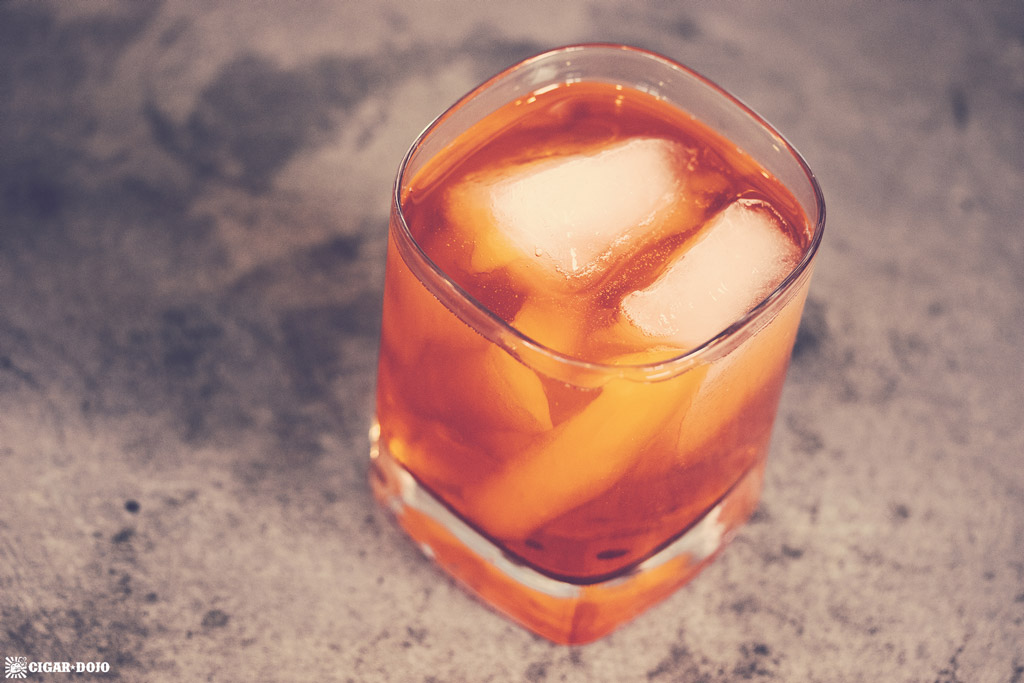 White Trash Old Fashioned drink