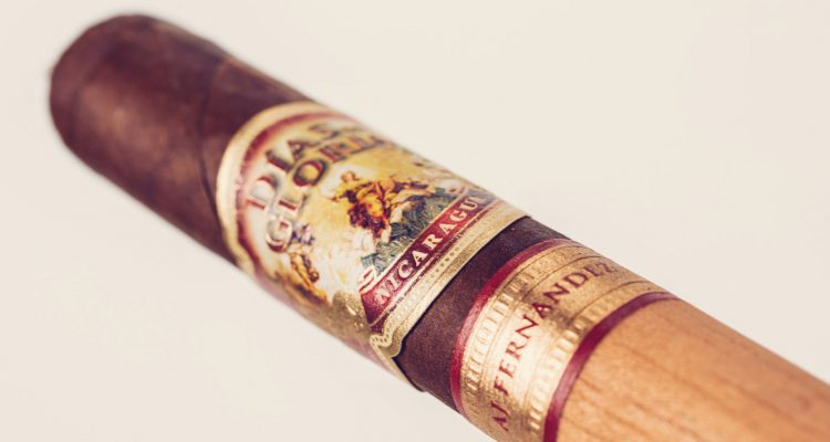 AJF Días de Gloria Short Churchill cigar review