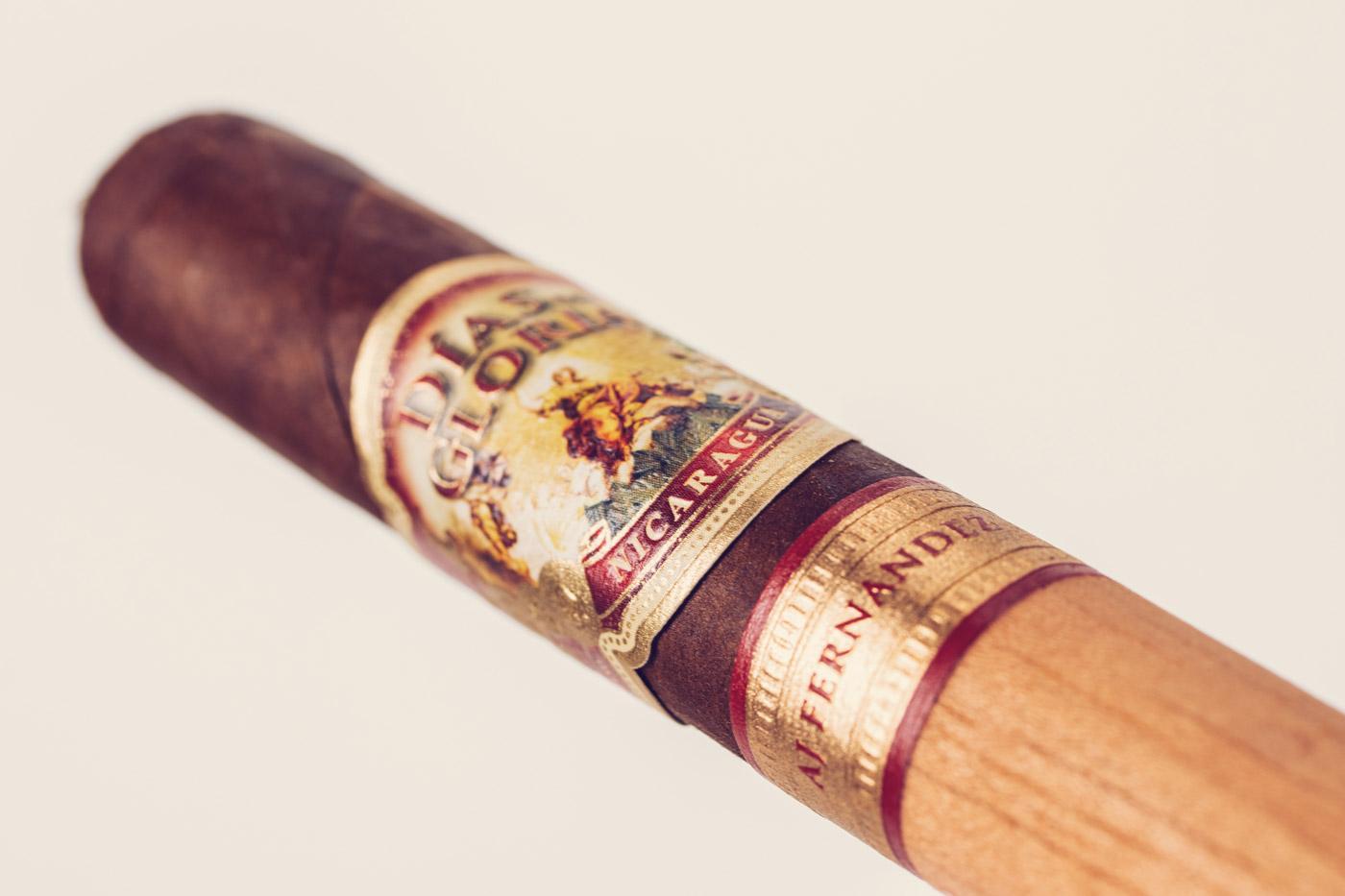 AJF Días de Gloria Short Churchill cigar review
