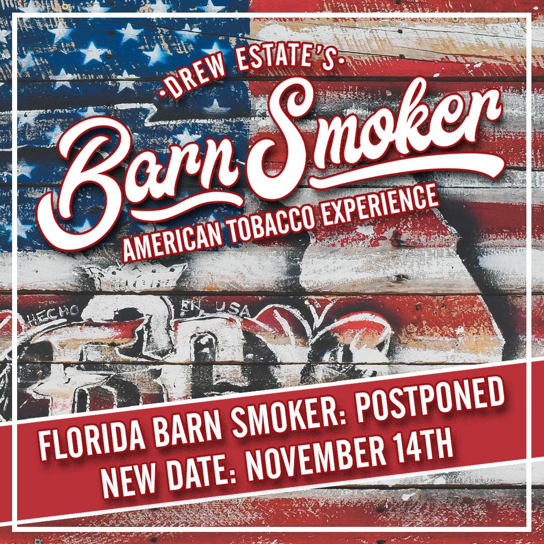 Drew Estate Florida Barn Smoker 2020 postponed