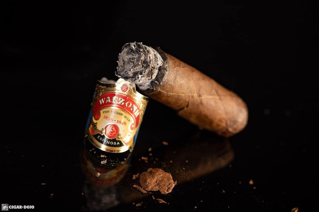 Espinosa Warzone Toro cigar nub finished