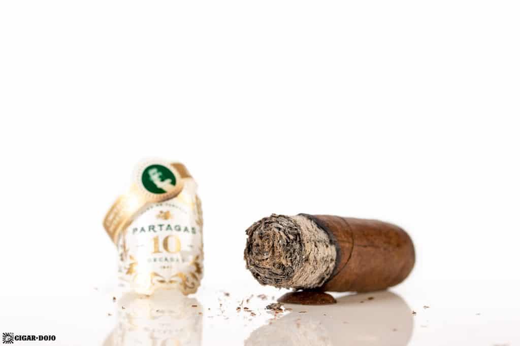 Partagas Limited Reserve Decadas 2019 cigar nub finished
