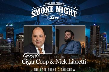 Nick Libretti and Cigar Coop