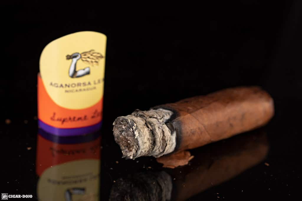 Aganorsa Leaf Supreme Leaf cigar nub finished