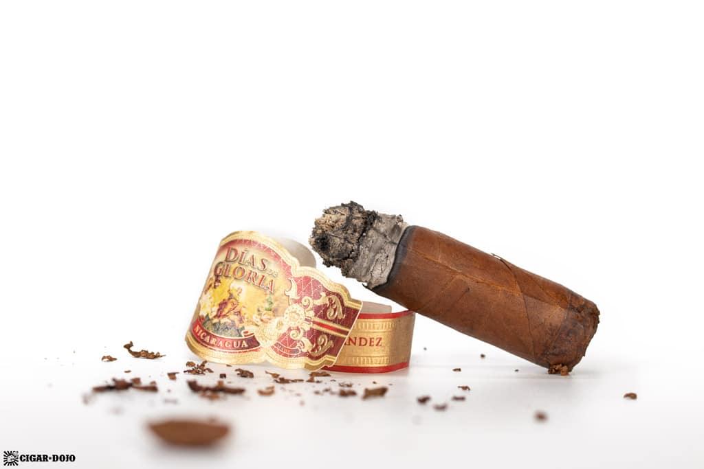 AJF Días de Gloria Short Churchill cigar nub finished