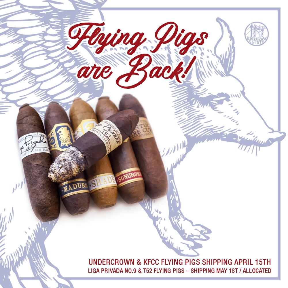 Drew Estate Flying Pig Release 2020