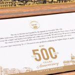 HVC 500 Years Anniversary box interior