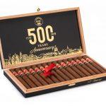 HVC 500 Years Anniversary box open