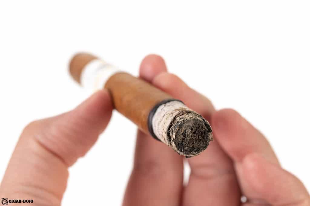 JSK Tyrannical Buc Connecticut Generosos cigar ash