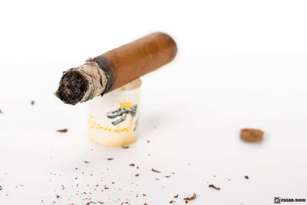 JSK Tyrannical Buc Connecticut Generosos cigar nub finished